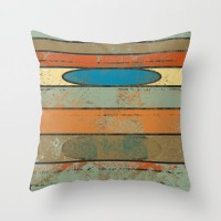 Squished Throw Pillow by metron | Society6