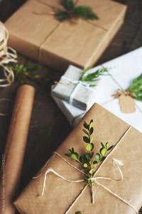 Organic gift wrap by Melanie DeFazio - Stocksy United - Royalty-Free Stock Photos