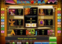 Play online gaminator Book of Ra free