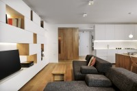 Slideshow: A Compact Minimalist Apartment in Slovenia | Dwell