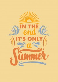 IT'S ONLY A SUMMER on Inspirationde