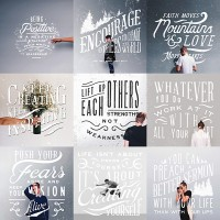 Lettering Set (Collaboration Series 5) on
