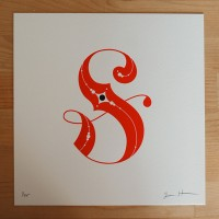 Jessica Hische — Letterpressed S