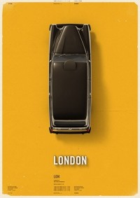 City Cab Poster by Mehmet Gozetlik | TrendLand: Fashion Blog & Trend Magazine — Designspiration