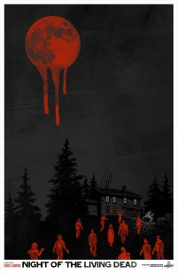 Phantom City Creative — Night of the Living Dead Limited Edition Poster — Designspiration