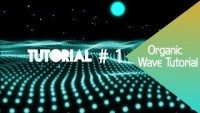 Adobe After Effects Tutorial: Organic Wave with Trapcode Form - YouTube