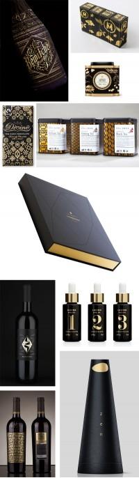 Graphic design / Förpackad Blogg om Förpackningsdesign, Förpackningar, Grafisk Design » Tema: Gyllene Svärta CAP&Design Nordens största tidning f?
