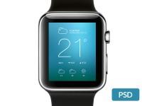 Apple Watch Free PSD Mockup - FreebiesXpress