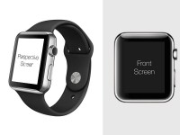 Apple Watch Free Template PSD - FreebiesXpress