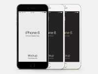 iPhone 6 Plus PSD Vector Mockup - FreebiesXpress