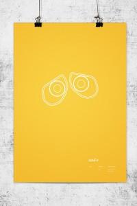 Pixar Minimalist Poster | thaeger - blog this way