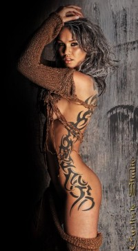 love the tat--elegant | Burningman Style & Creativity | Pinterest