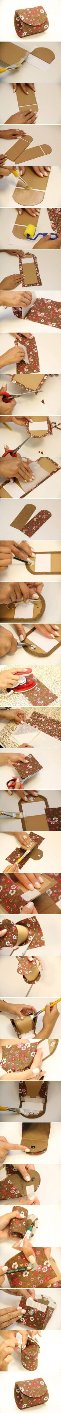 DIY Easy Money Pouch