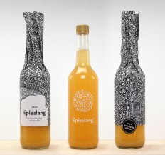 Epleslang Apple Juice — The Dieline on Inspirationde