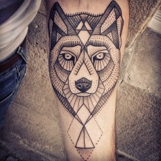 Wolf Tattoo On Arm – We Love Tattoos on Inspirationde