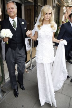 Poppy Delevingne Wedding Dress - Poppy Delevingne Wedding Photos - Harper's BAZAAR Magazine