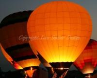 Hot Air Balloon Evening Glow 8x10 Fine Art by iShutter2Think