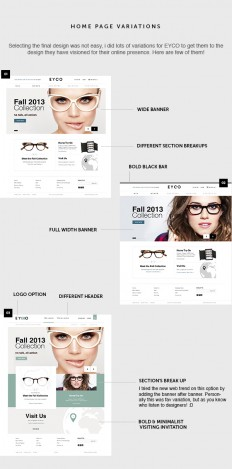 Eyewear Online Store (EYCO) on