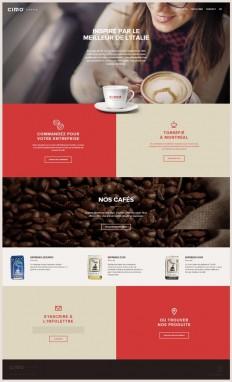Cimo Coffee | html5mania.com