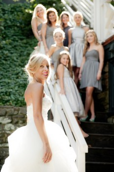 Grey + White Rustic Mill Wedding by Deana Clement Photography - Inspired By This