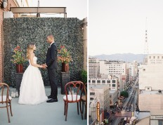 Downtown Rooftop Wedding Inspiration - Inspired By This