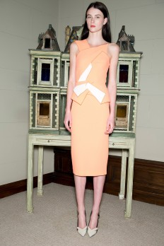 Roland Mouret Resort 2015 - Collection - Gallery - Look 1 - Style.com
