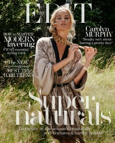 World Country Magazines: Carolyn Murphy by Yelena Yemchuk for The Edit Magazine, September 2014