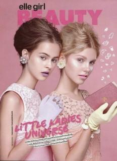 World Country Magazines: Angela Jurkowianiec & Natalia Napieralska - Elle Girl Magazine, Thailand, September 2014