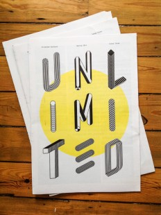 Unlimited Newspaper Type on