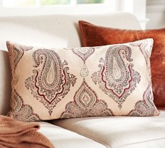 Evelyn Paisley Pillow Cover | Pottery Barn