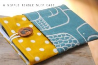 A Simple Kindle Fire Slip Case: kindle sewing tutorial series