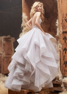Bridal Gowns, Wedding Dresses by Hayley Paige - Spring 2014 Collection - JLM Couture