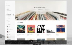 Graphic Design —? Interface / Tomahawk: A universal music player by Jordi Verdú