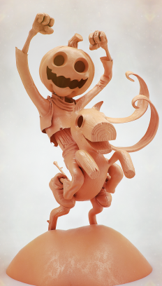 Jack Pumpkinhead (Wip) - 2014 on