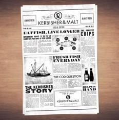 Kerbisher & Malt: Branding & Website on