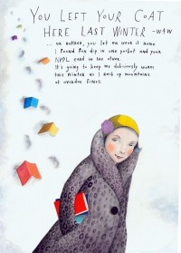 You Left Your Coat Here Last Winter by SophieBlackall on Etsy