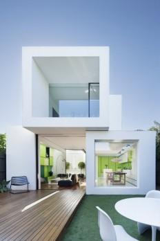 Shakin Stevens House by Matt Gibson Architecture + Design on Inspirationde