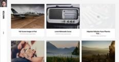 Polaroid style Writer Joomla Template by Gavick...
