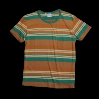 UNIONMADE GOODS - Levi's Vintage Clothing - Stripe T-shirt in Verdant Green