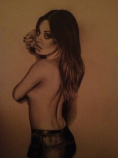 Mila Kunis - exportingart.com