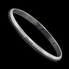 Classic Fine Silver Ring