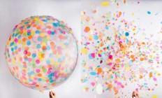 swissmiss | Confetti Balloons