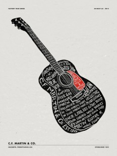 Typography / MARTIN GUITARS