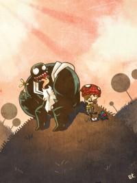 Comicbook Fanart by rizaturker