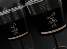 200 Years Coffee - Logo and Identity on