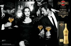 Monica Bellucci for Dolce & Gabbana's New Martini Gold Commercial