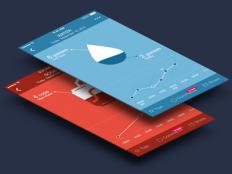 Water intake screen for Argus app by Tina Tav?ar