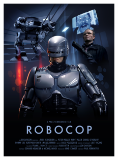 Alien, Robocop, and Blade Runner posters by Candykiller - GeekDraw