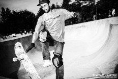 Skateboard trick in motion - 54ka [photo blog]