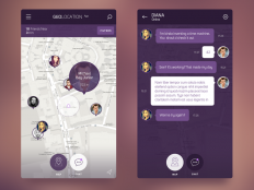 iOS 8 Geolocation App on Inspirationde